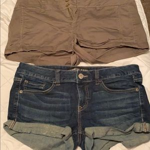 Two pairs of shorts